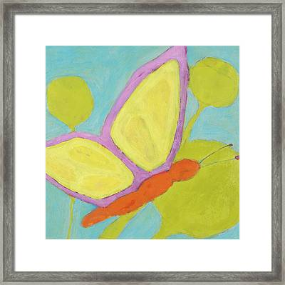 Butterfly Framed Print by Laurie Breen