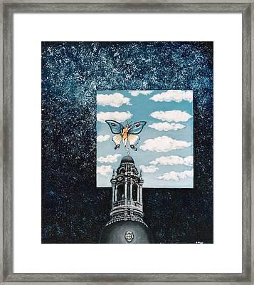 Butterfly Dream Framed Print by Graciela Bello