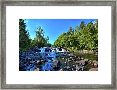 Buttermilk Falls Framed Print by David Patterson