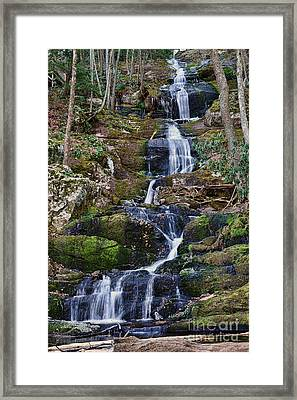 Buttermilk Falls Framed Print by Paul Ward
