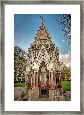 Buxton Memorial London Framed Print by Adrian Evans