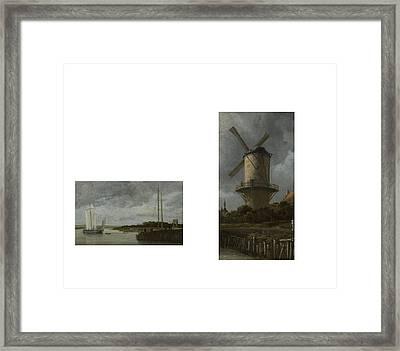 Bw 8 Van Ruisdael Framed Print by David Bridburg