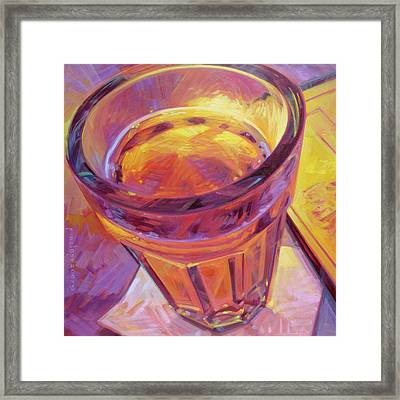 By Candle Light II Framed Print by Penelope Moore