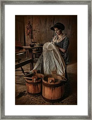 By Hand Framed Print by Robin-lee Vieira