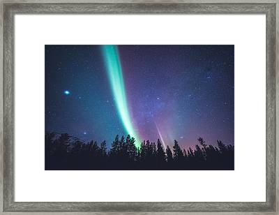By Jupiter Framed Print by Tor-Ivar Naess
