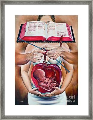 By The Breath Of God Framed Print by Ilse Kleyn