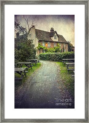 By The End Of A Road Framed Print by Svetlana Sewell