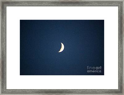 By The Light Of The Moon Methow Valley Abstract By Omashte Framed Print by Omaste Witkowski