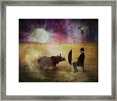 By The Light Of The Moon Framed Print by Terry Fleckney