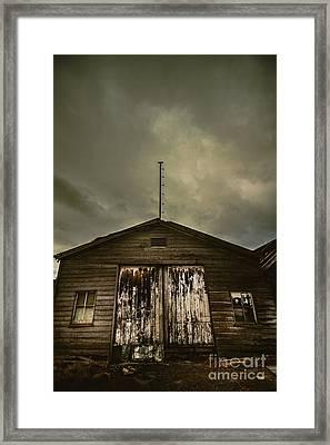 Bygone Farmstead  Framed Print by Jorgo Photography - Wall Art Gallery