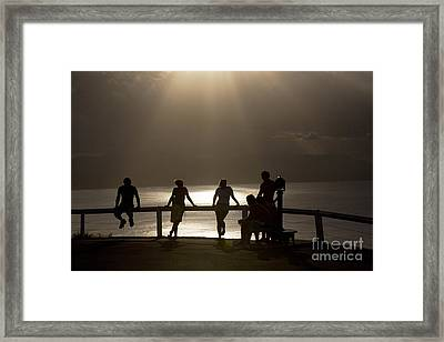 Byron Bay Lighthouse Framed Print by Avalon Fine Art Photography