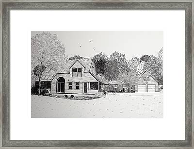 C And P's House  Framed Print by Michelle Welles
