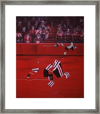 C B  Framed Print by Ken Yackel