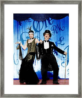 Cabaret, From Left Liza Minnelli, Joel Framed Print by Everett