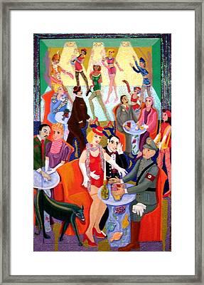 Cabaret Framed Print by Maria Alquilar