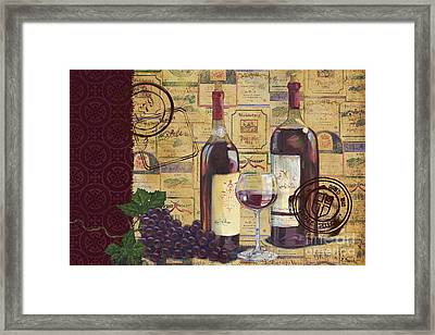 Cabernet Valley Framed Print by Paul Brent