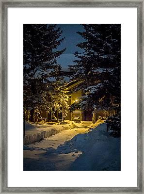 Cabin Framed Print by Hyuntae Kim