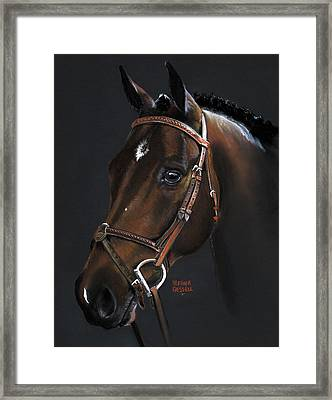 Cadence Framed Print by Heather Gessell