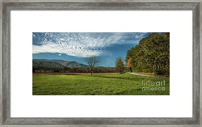 Cades Cove Tennessee Framed Print by Lena Auxier