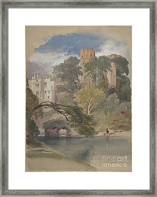 Caesar's Tower, Warwick Castle Framed Print by Celestial Images