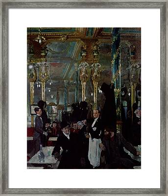 Cafe Royal, London, 1912 Framed Print by Sir William Orpen