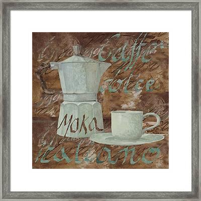Caffe Espresso Framed Print by Guido Borelli