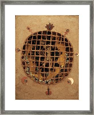 Caged Framed Print by Ione Citrin