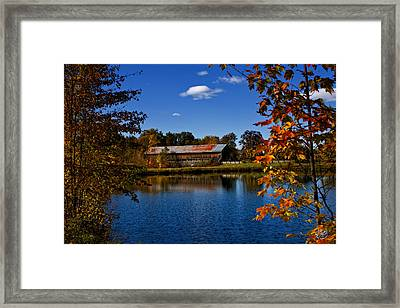 Cain Bridge Framed Print by Brad Hoyt