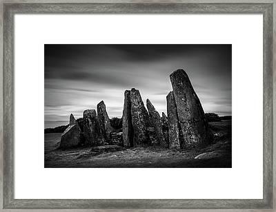 Cairnholy I Framed Print by Dave Bowman