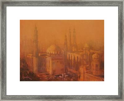 Cairo Egypt Framed Print by Tom Shropshire