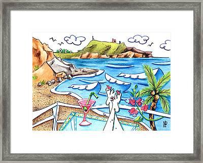 Cala Plomo Costa Del Sol - Parque Natural Cabo De Gata Almeria Framed Print by Arte Venezia