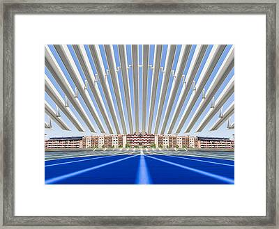 Calatrava Congress Centre / Oviedo Framed Print by Herbert A. Franke