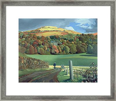 Calgary House - Isle Of Mull  Framed Print by Anna Teasdale