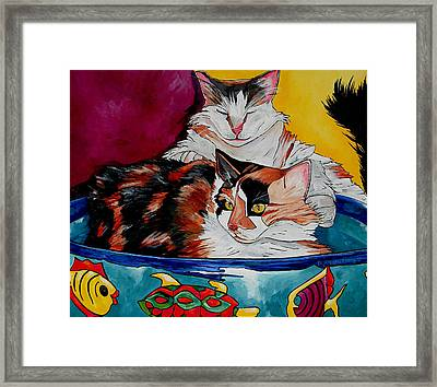 Calico And Et Framed Print by Patti Schermerhorn