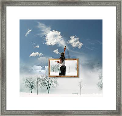 Califonia Dreaming  Framed Print by John  Poon