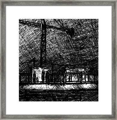 California 2800w Framed Print by Rachel Christine Nowicki