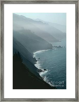 California Coastline Framed Print by Unknown