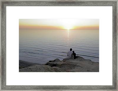 California Dreaming Framed Print by Christine Till