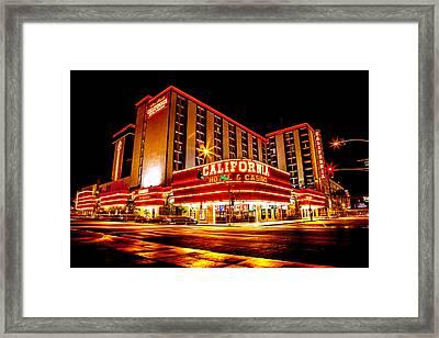 California Hotel Framed Print by Az Jackson