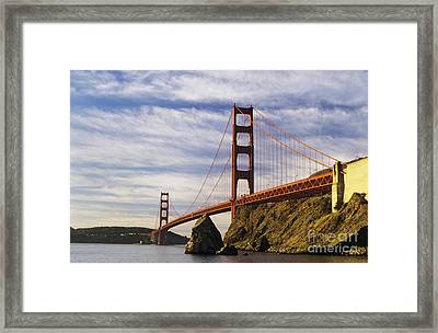 California, San Francisco Framed Print by Larry Dale Gordon - Printscapes