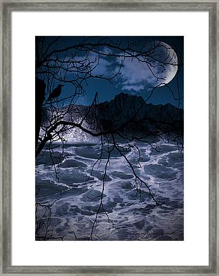Caliginosity Framed Print by Lourry Legarde