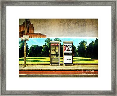 Call Me Framed Print by Richard Allen