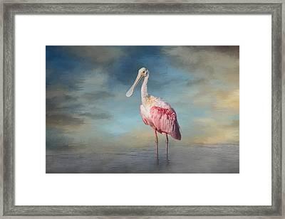 Call Me Rosy Framed Print by Kim Hojnacki