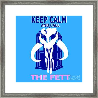 Call The Fett 2 Framed Print by Justin Moore