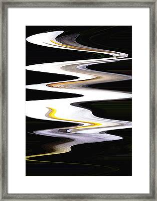 Calla River Framed Print by Norman  Andrus