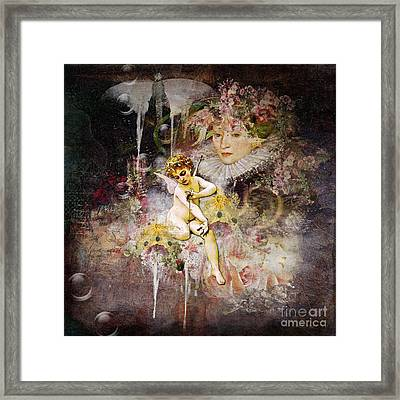 Calling For Angels Framed Print by Monique Hierck
