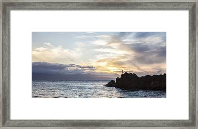 Calling From Maui Framed Print by Jon Glaser