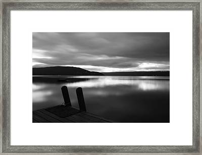 Calm Before The Storm Framed Print by Steven Ainsworth