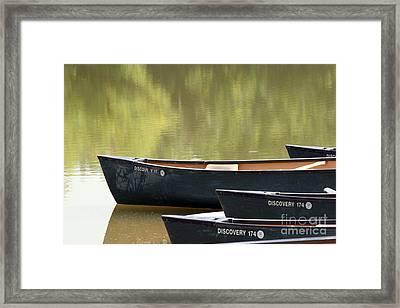 Calm Morning Framed Print by Jeannie Burleson