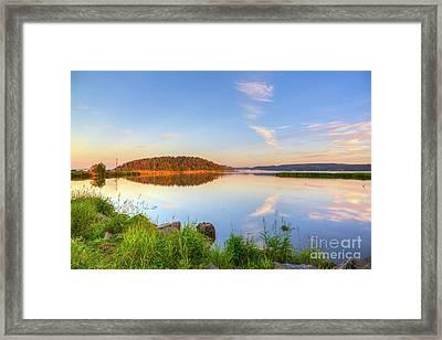 Calm Summer Morning Framed Print by Veikko Suikkanen